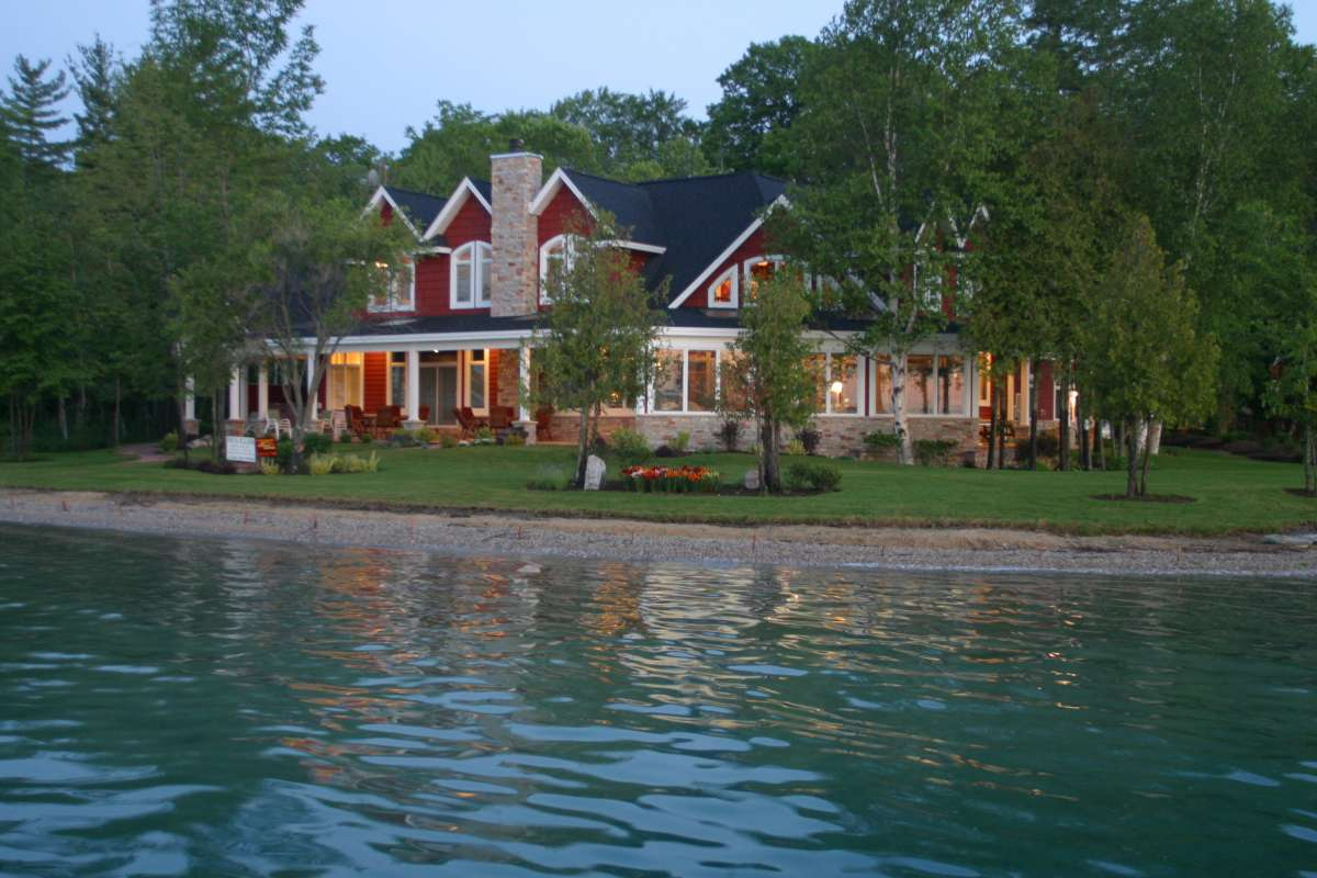 Dcl homeworks llc an innovative concept in home for Lake house property